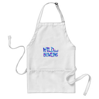 Wild About Bowling Standard Apron
