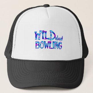 Wild About Bowling Trucker Hat