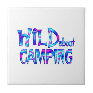 Wild About Camping Tile