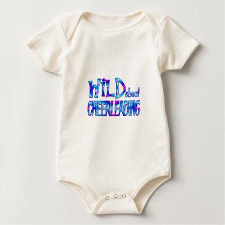 Wild About Cheerleading Baby Bodysuit