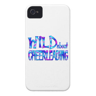 Wild About Cheerleading Case-Mate iPhone 4 Case