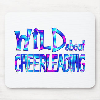 Wild About Cheerleading Mouse Pad