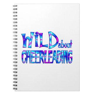 Wild About Cheerleading Notebook