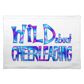 Wild About Cheerleading Placemat