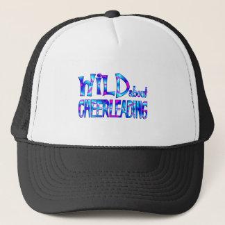 Wild About Cheerleading Trucker Hat