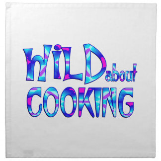 Wild About Cooking Napkin