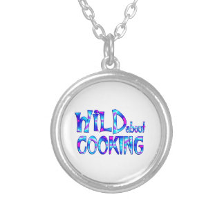 Wild About Cooking Silver Plated Necklace