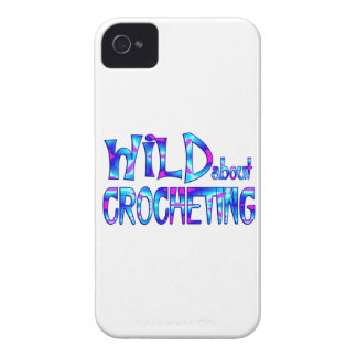 Wild About Crocheting Case-Mate iPhone 4 Case