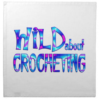 Wild About Crocheting Napkin