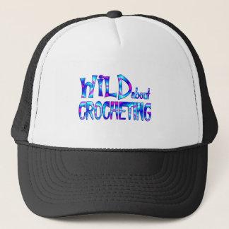 Wild About Crocheting Trucker Hat