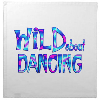 Wild About Dancing Napkin