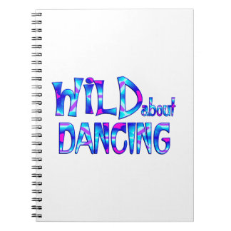 Wild About Dancing Notebooks