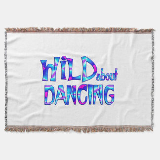 Wild About Dancing Throw Blanket