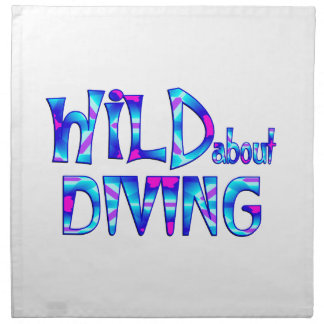 Wild About Diving Napkin