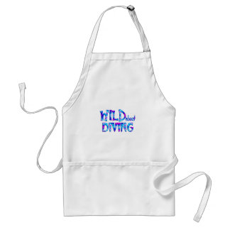 Wild About Diving Standard Apron