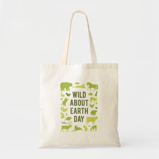 Wild About Earth Day Tote