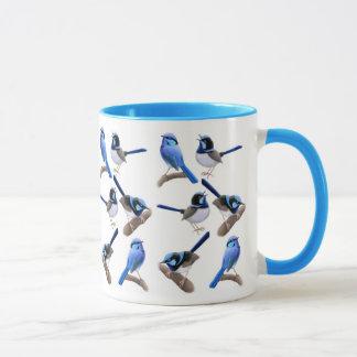 Wild About Fairy Wrens Ringer Mug