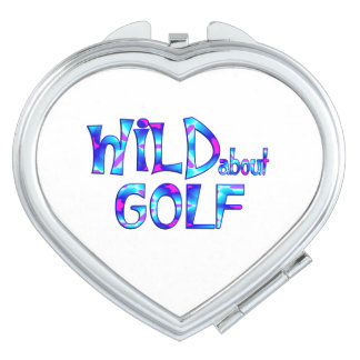 Wild About Golf Compact Mirrors