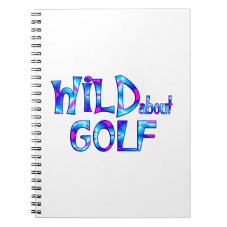 Wild About Golf Notebook