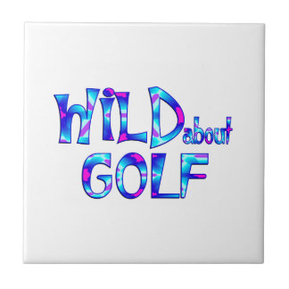 Wild About Golf Tile