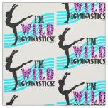 Wild About Gymnastics Fabric