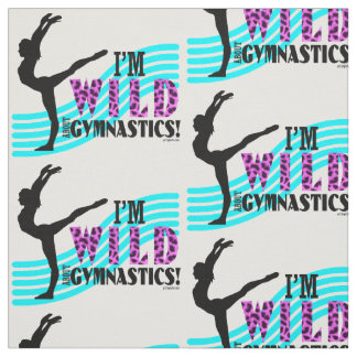 Wild About Gymnastics Fabric