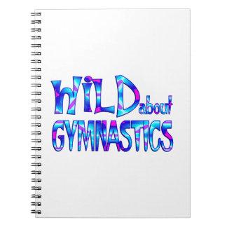 Wild About Gymnastics Notebook