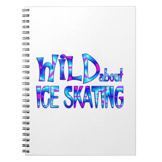 Wild About Ice Skating Notebooks