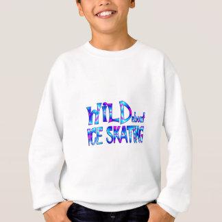 Wild About Ice Skating Sweatshirt