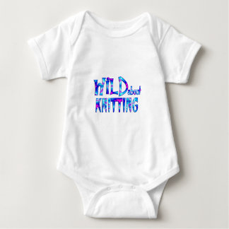 Wild About Knitting Baby Bodysuit