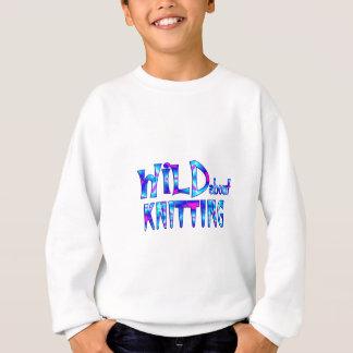 Wild About Knitting Sweatshirt