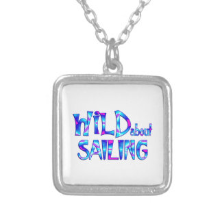 Wild About Sailing Silver Plated Necklace