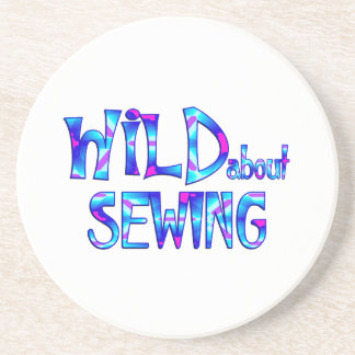 Wild About Sewing Coaster