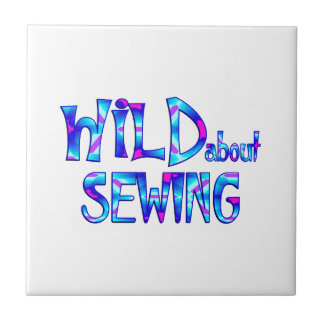 Wild About Sewing Tile