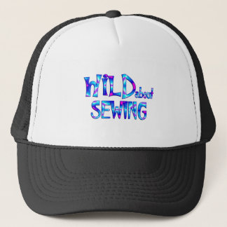 Wild About Sewing Trucker Hat