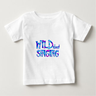 Wild About Singing Baby T-Shirt