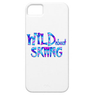 Wild About Skiing iPhone 5 Cases