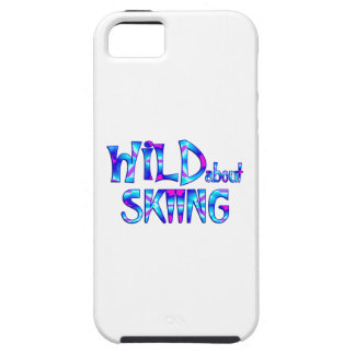 Wild About Skiing iPhone 5 Cover