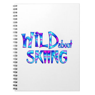 Wild About Skiing Notebook