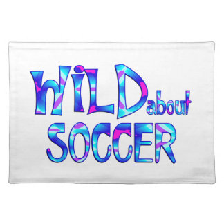 Wild About Soccer Placemat