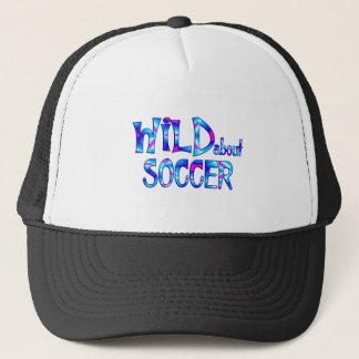 Wild About Soccer Trucker Hat