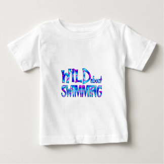 Wild About Swimming Baby T-Shirt