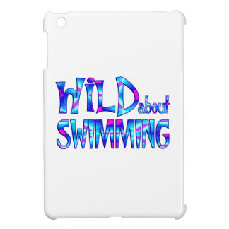Wild About Swimming iPad Mini Cover