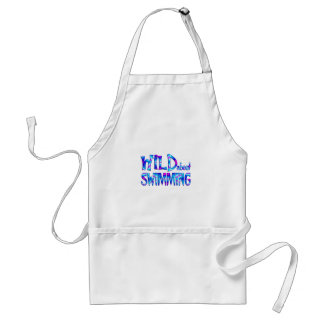 Wild About Swimming Standard Apron