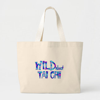 Wild About Tai Chi Large Tote Bag