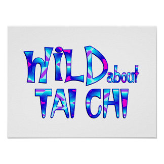 Wild About Tai Chi Poster