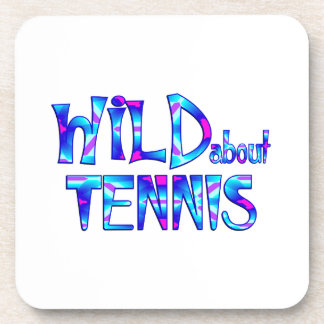Wild About Tennis Coaster