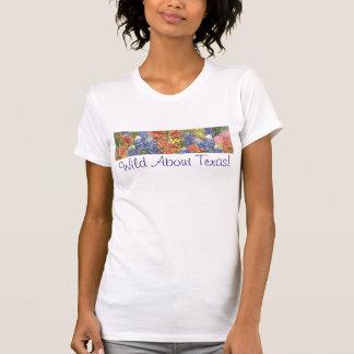 Wild About Texas! Ladies T Shirt