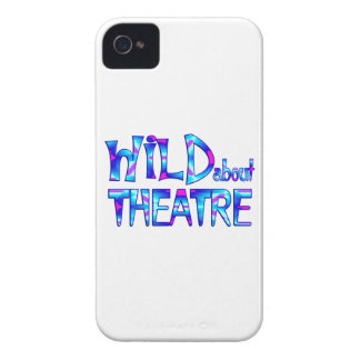Wild About Theatre iPhone 4 Cover