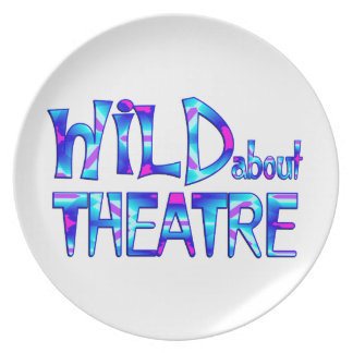 Wild About Theatre Plate